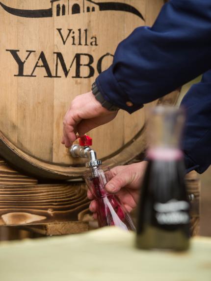 Вот уже второй год подряд «Вилла Ямбол» превратила свой профессиональный день, именуемый Трифон Зарезан, в праздник жителей города Ямбол
