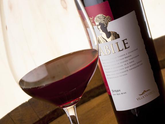 """""""Вила Ямбол"""" допълни серията KABILE с вино от аристократичния сорт Сира"""
